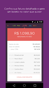 screenshot of Nubank version Varies with device