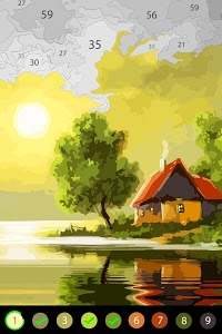 screenshot of Oil Painting by Color Planet - Free Art by Number version 1.0.9