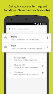 screenshot of Ola. Get rides on-demand version 4.8.6