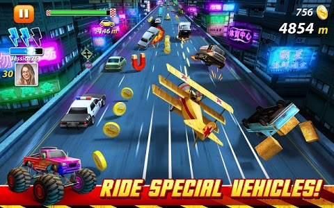 screenshot of On The Run : Car Racing version 1.3.6.1