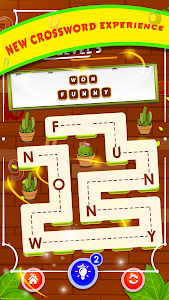 screenshot of One Line Block Puzzle - Connect Word version 1
