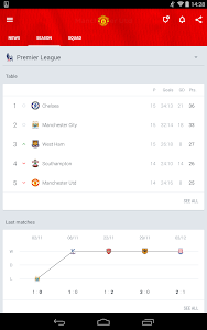 screenshot of Onefootball - Pure Soccer! version 7.1.4