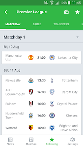 screenshot of Onefootball - Soccer Scores version 11.15.1.436