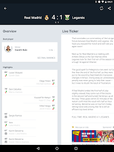screenshot of Onefootball - Soccer Scores version 11.2.1.366