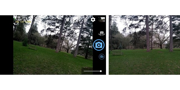 screenshot of Open Camera version 1.45.2