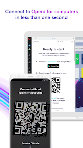 screenshot of Opera Touch: the fast, new browser with Flow version 1.10.4