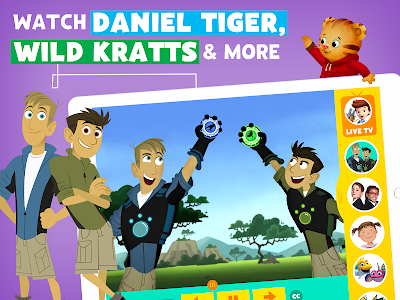 screenshot of PBS KIDS Video version Varies with device