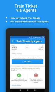 screenshot of Live Train Status, PNR Status & Indian Rail Info version 3.6.2