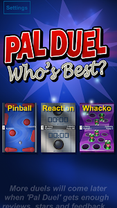 screenshot of Pal Duel - Who's Best? version 1.02