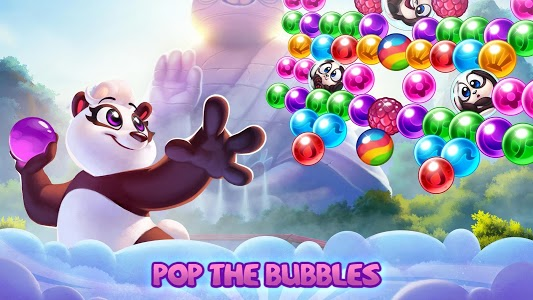 screenshot of Panda Pop! Bubble Shooter Saga & Puzzle Adventure version 8.0.106