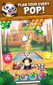 screenshot of Panda Pop version 2.8.1.1