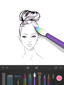 screenshot of PaperColor : Paint Draw Sketchbook & PaperDraw version 2.3.6