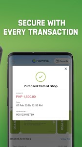screenshot of PayMaya - Shop online, pay bills, buy load & more! version 2.38.0