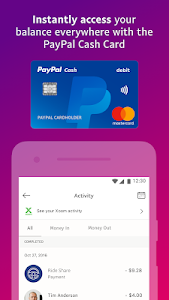 screenshot of PayPal Mobile Cash: Send and Request Money Fast version 7.9.0
