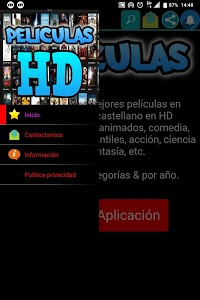 screenshot of Películitas HD En Español version 9.4