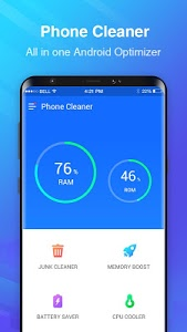 screenshot of Phone Cleaner- Cache Clean, Android Booster Master version 1.1.29