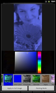 screenshot of Photo Art - Color Effects version 1.8.6