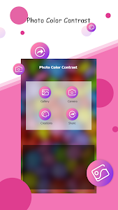 screenshot of Photo Color Contrast Free version 1.4