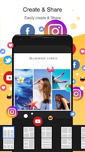 screenshot of PhotoGrid: Video & Pic Collage Maker, Photo Editor version 7.20