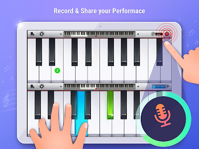screenshot of Pianist HD : Piano + version Varies with device