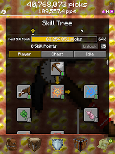 screenshot of PickCrafter - Idle Craft Game version 4.9.2