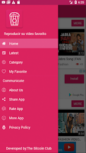 screenshot of PopCorn Pelis version 1.0.13
