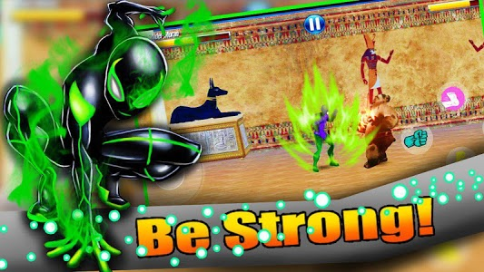 screenshot of Power Amazing Frog Spider Rope Fight version 1.6