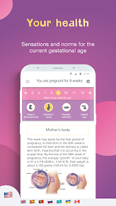 screenshot of Pregnancy Tracker: Baby Due Date Calculator version 2.8.2.5
