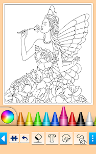 screenshot of Princess Coloring Game version 10.6.6