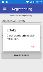 screenshot of ProBDE Nachrichten version 1.2