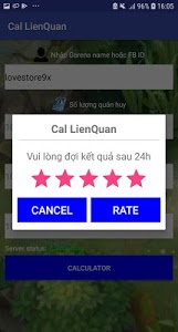 screenshot of Quan Huy Calculator Lien quan version 1.0