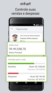 screenshot of QuickBooks ZeroPaper - Gerenciador Financeiro version 3.14.0