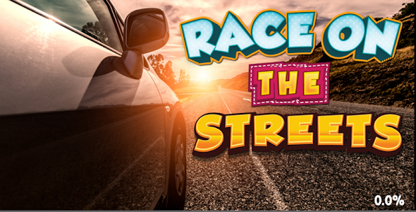 screenshot of Race On The Streets version 2.0