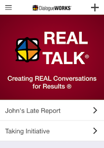 screenshot of Real Talk version Varies with device