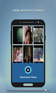screenshot of Recover Deleted Videos- All Video Formats version 4.0
