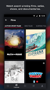 screenshot of Red Bull TV: Live Sports, Music & Entertainment version 4.4.1.82