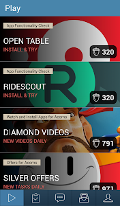 screenshot of Rewardable version Varies with device