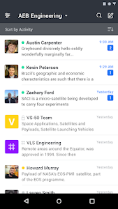 screenshot of Rocket.Chat version 3.4.1