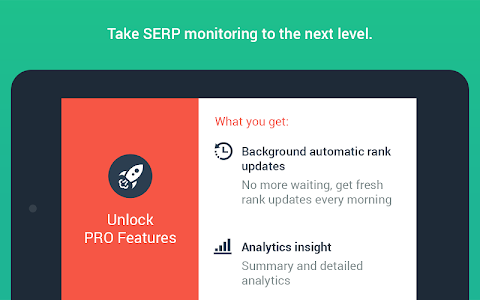 screenshot of SEO SERP mojo - Rank Tracker version 2.32.5