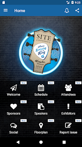 screenshot of SITE Annual Conference version 2.2.10