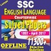 SSC English Language 1999-17 Solved Papers Offline