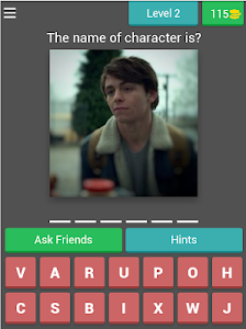screenshot of Sabrina FAN Quiz version 3.2.8z