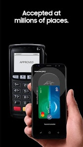 screenshot of Samsung Pay version Varies with device