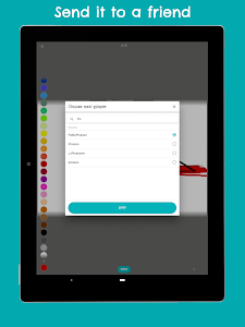 screenshot of ScribbleX – A Social Drawing Game version 1.0.1