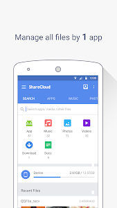 screenshot of ShareCloud - Share By 1-Click version 4.9.1