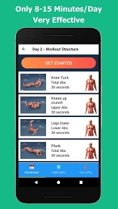 screenshot of Six Pack in 30 Days version 1.3.14