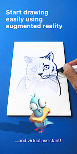 screenshot of SketchAR: how to draw with AR version 4.33-play
