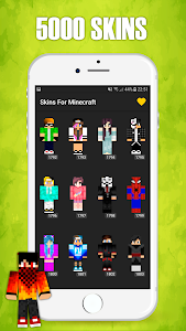 screenshot of Skins for Minecraft version 1.0