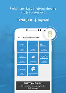 screenshot of SkyCash version Varies with device