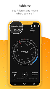 screenshot of Smart Compass 360 Pro Free - All in one Compass version 1